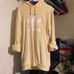 Adidas Yellow Pastel Hoodie